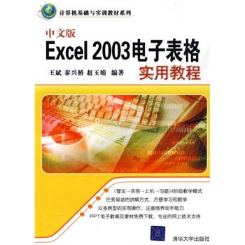 计算机基础与实训教材系列:中文版Excel 2003电子表格实用教程 pdf epub mobi txt 下载
