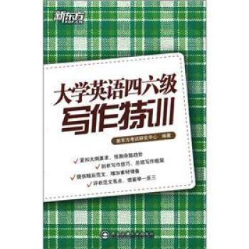新东方·大学英语四六级写作特训 pdf epub mobi txt 下载