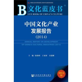 文化蓝皮书:中国文化产业发展报告(2014) pdf epub mobi txt 下载