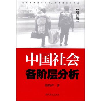 中国社会各阶层分析(增订版) pdf epub mobi txt 下载