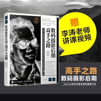 赠视频 数码摄影后期高手之路 李涛 摄影后期书籍调色修图技巧教程书PS 影视后期处理 pdf epub mobi txt 下载
