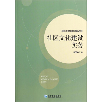 社区工作实务系列丛书:社区文化建设实务 pdf epub mobi txt 下载