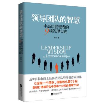 领导团队的智慧:中高层管理者的9项管理实践 pdf epub mobi txt 下载