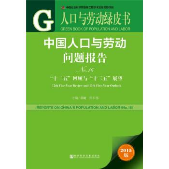 人口与劳动绿皮书:中国人口与劳动问题报告No.16 pdf epub mobi txt 下载