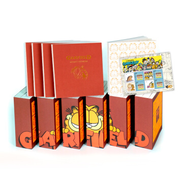加菲猫全集 40周年典藏版 赠送加菲猫手账+定制版纪念邮票(礼盒套装共30册) [Garfield] pdf epub mobi txt 下载