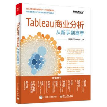 Tableau商业分析从新手到高手 pdf epub mobi txt下载