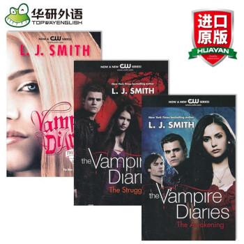 华研原版 吸血鬼日记英文原版小说系列三本 1-4套装 The Vampire Diarie pdf epub mobi txt 下载