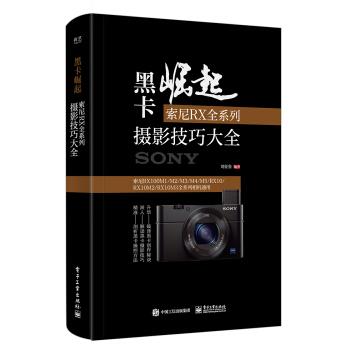 黑卡崛起:索尼RX全系列摄影技巧大全 摄影 书籍 pdf epub mobi txt下载